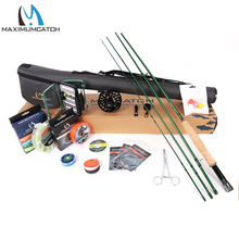 Maxcatch Premier Fly Fishing Rod and Reel Combo Full Fishing Outfit