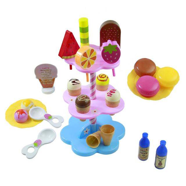 Colorful Desserts and Ice Cream Making Set (22 Pieces)