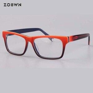 Image 4 - ZOBWN ผสมขายส่ง Vintage Designer กรอบแว่นตาผู้หญิงแว่นตา Clear Lens กรอบแว่นตาผู้หญิง oculos de grau feminino