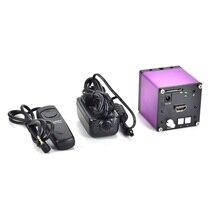 Buy FULL HD HDMI 1080P 60FPS Digital Industry Video Inspection Microscope Camera Set TF Card Video Recorder