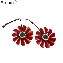 85MM FDC10U12S9-C 0.45AMP 4Pin Cooler Fan Replacement For XFX RX 560D RX 570 RX 580 RX Vega Graphics Video Card Cooling Fans met rx