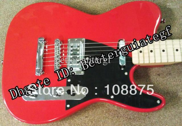 US $250 0 |best Factory guitar Alden Cruiser, Twangy Humbucker, Single Coil  Neck, Red, Vince Gill!100% Excellent Quality100% E-in Guitar from Sports &