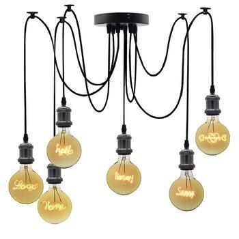 TIANFAN Edison Lampen Vintage Gloeilamp G125 Gebogen Led Brief Gloeilamp 4 W 220/240 V E27 Decoratieve gloeilamp Liefde Thuis