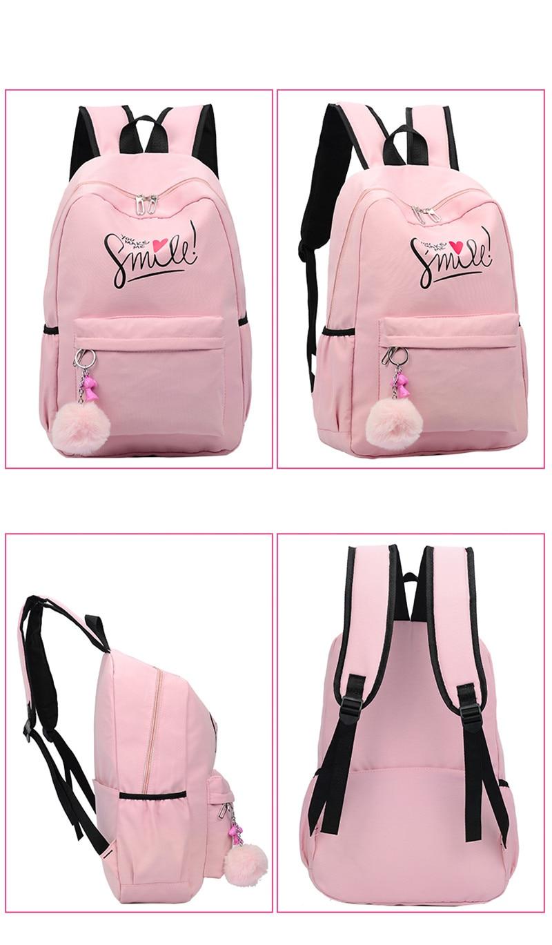 (20)sac à dos pour filles adolescentes
