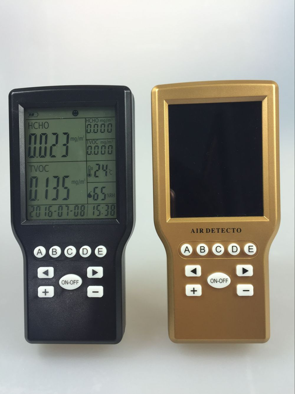 VOC&CH2O Indoor air quality detector/monitors/meter indoor voc air quality monitor pm2 5 dust temperature humidity meter