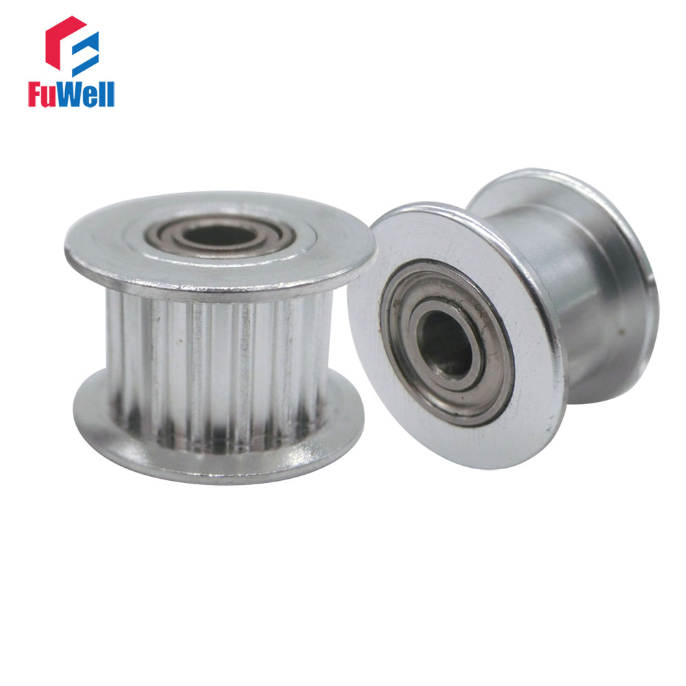 2gt Gt2 16t 20t Timing Idler Pulley Aluminum Alloy With