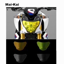 MAIKAI For BMW G310R 2016-2018 G310GS 2017-2018 Motorcycle Headlight Protector Cover Shield Screen Lens