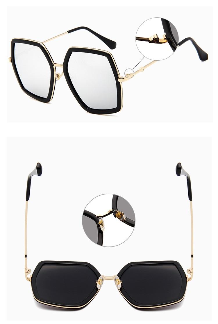 HTB176oSd4PI8KJjSspfq6ACFXXa5 - Square Luxury Sun Glasses Brand Designer Ladies Oversized Crystal Sunglasses Women Big Frame Mirror Sun Glasses For Female UV400