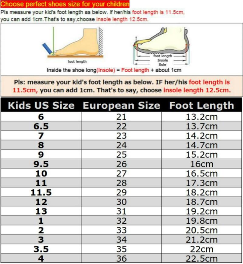 size 6 children's shoes european