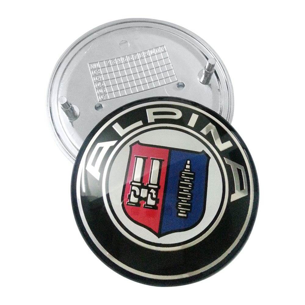 285MM BLACK GLOSS Emblem Badge Stickers Decals with Strong 3M Includes instructions MEASURE BEFORE PURCHASE Fitment Top Quality fit For RS S LINE QUATTRO etc GLOSS BLACK 285mm pack of 1 AMD