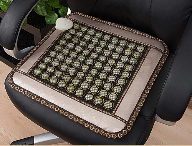 2016 Most Popular Jade Cushion Germanium Cushion Jade Thermal Heated Germanium Nice Bottom Pad Massage Pad 45*45 Free Shipping цены онлайн