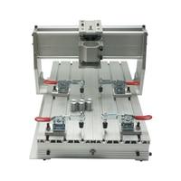 Máquina CNC DIY quadro 3040Z-DQ carpintaria router Parafuso da Esfera