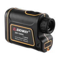 SNDWAY 1000M Distance Laser Distance Meter SW 1000A Laser Rangefinder Telescope Speed Measuring Tool Tester Battery