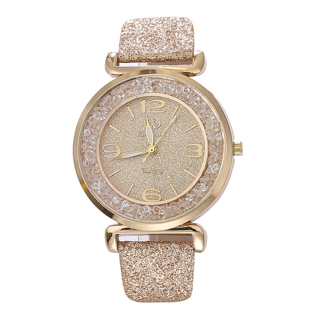 2018 New Arrival Top Brand Luxury Women Watches Rhinestone Crystal Wristwatch La