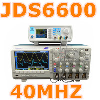 JDS6600 40MHZ Digital Dual Channel DDS Signal Generator Arbitrary Waveform Generator Frequency Meter 30 Off