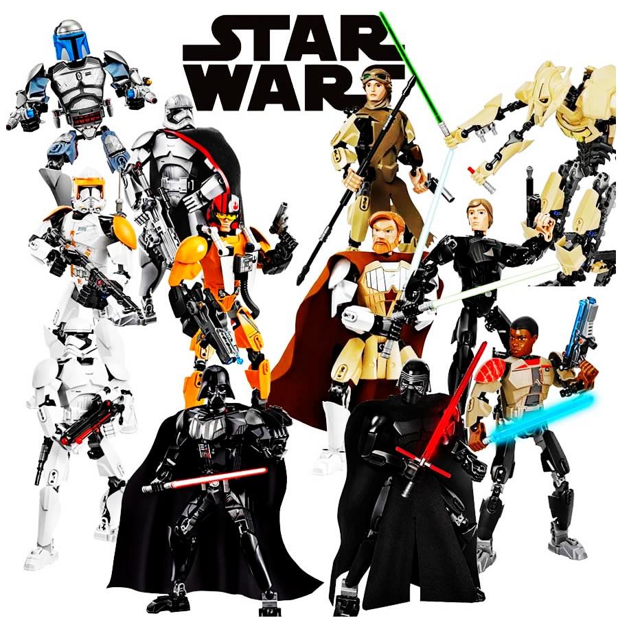 Lego звездные войны люк скайуокер