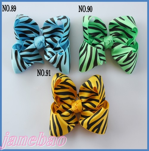 Разноцветные 220 шт. 3.5 ''бутик волосы луки аксессуары