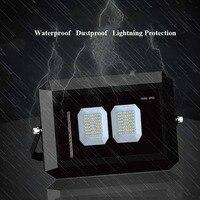 New Ultra thin LED Floodlight Lamp 20W 30W 50W 100W IP66 220V Outdoor Housing Spotlight Garden Studio Reflector Led Flood Light