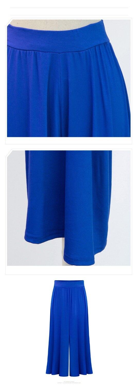 86feba18f8 Biuro 2018 Plus size XL 6XL Lato Kobiety Odzież Spodnie Szerokie Nogawki  Luźna Sukienka Spódnica Spodnie Capris Kobiece Culottes Pantalon w Biuro  2018 Plus ...