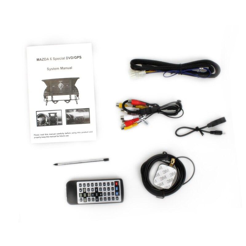 us $495.0  für wince mazda 6 auto radio player mit gps navigation mit  lenkrad klimaanlage bordcomputer display in für wince mazda 6