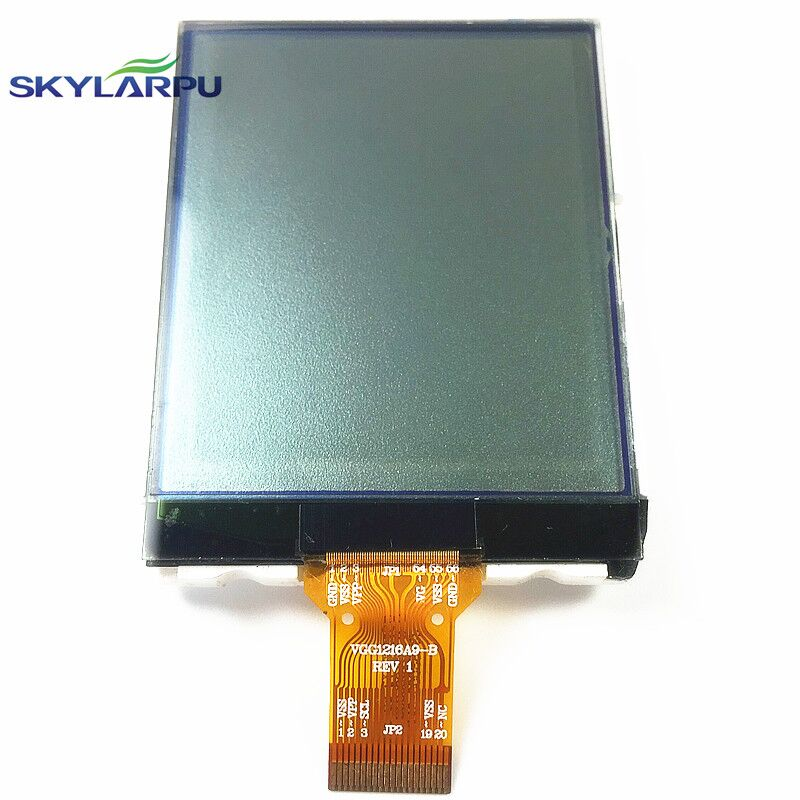 skylarpu 2.4 inch VGG1216A9-A REV 1 LCD Screen for GARMIN eTrex 10 Handheld GPS LCD display Screen panel Repair replacement skylarpu 2 2 inch lq022b8ud04 lcd screen for garmin edge 705 gps bike computer lcd display screen panel repair replacement
