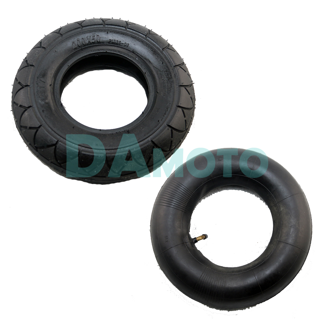 Us 6 59 8 Inch Folding Electric Scooter Tire Inner Tubes 200x50 Tire Inner Tube For E Scooter Pocket Bike Razor E100 E150 E200 In Tyres From