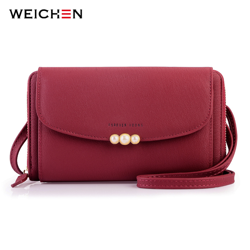 WEICHEN New Designer Women Shoulder Bag Purse Leather Women Messenger Bags Female Clutch Crossbody Bag For Ladies Bolsa Feminina 2018 women messenger bags vintage cross body shoulder purse women bag bolsa feminina handbag bags custom picture bags purse tote