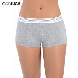 Image 4 - Women Cotton Panties Briefs Underwear Low Waist Boyshort For Female Safety Short Body Shaper Underwear Plus size Boxer shorts