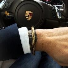 Mcllroy bangle men/cuff/316l/stainless steel/bracelets for women men retro punk bracelets & bangles Viking Jewelry valentine