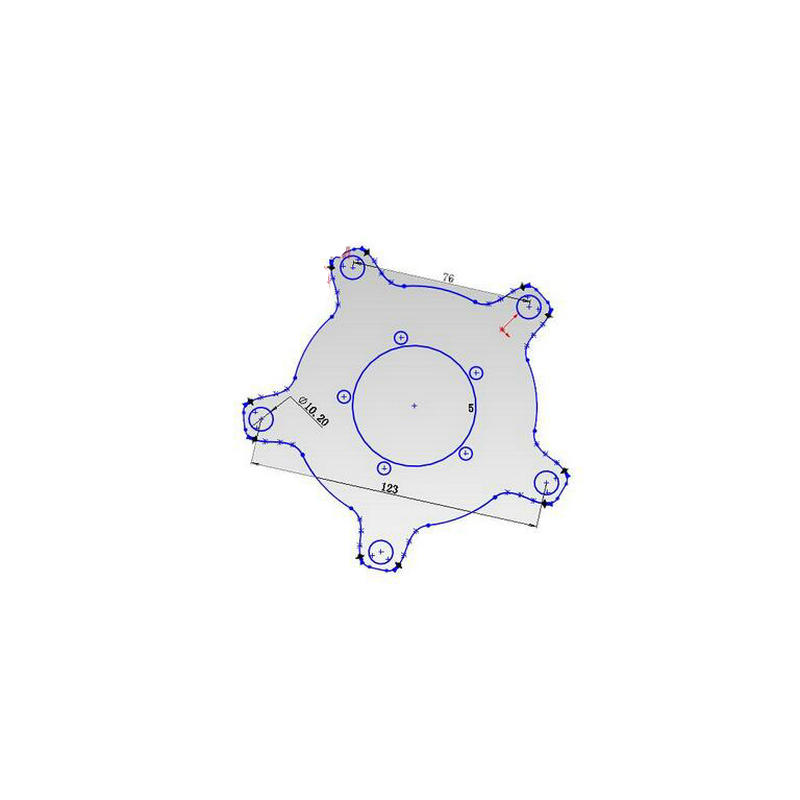 104 & 130 BCD Chainring Spider Adapter Gear For Bafang 8fun BBS01 / - Ποδηλασία - Φωτογραφία 2
