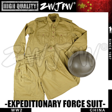 WW2 китайская форменная Униформа Великобритании P37 Униформа летнее пальто и брюки комплект Великобритания/105114