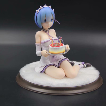 Japanese Anime Re:Life In A Different World From Zero Rem Action Figure 1/8 scale Model Gifts no retail box (Chinese Version)