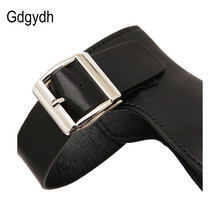 Gdgydh 2018 New Summer Shoes Women White Open Toe Button Belt Thick Heel Wedges Platform Shoes Fashionable Casual Sandals Female