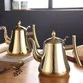 Чайник Из Нержавеющей Стали немагнитный Европейский кофейник домашний отель с фильтром индукционная плита