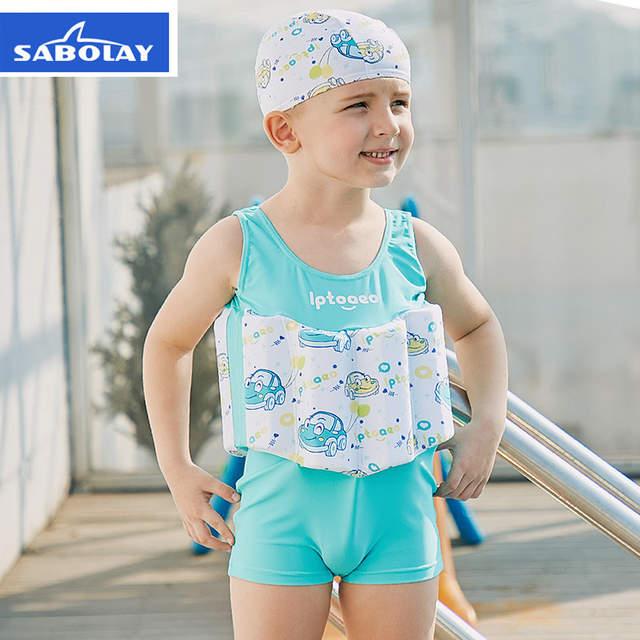 80242d4a8f Children's Swimwear Boys Swimsuit Buoyancy Surfing Floating Swimming  Clothes Bathing Suit Toddler Swim Diaper Vest Rash