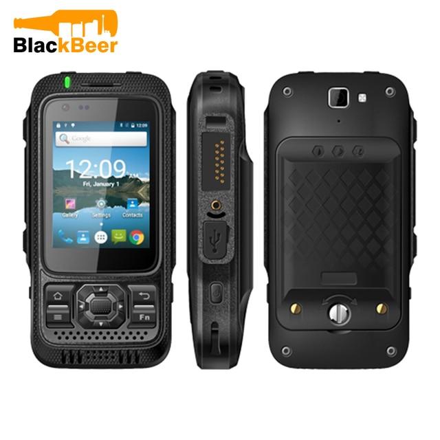 "Mosthink токие TK1000 MTK6735P 4 ядра 1 GB + 8 GB 2,4 ""смартфон IP67 Водонепроницаемый 4G LTE Zello PTT Android Walkie Talkie телефон"