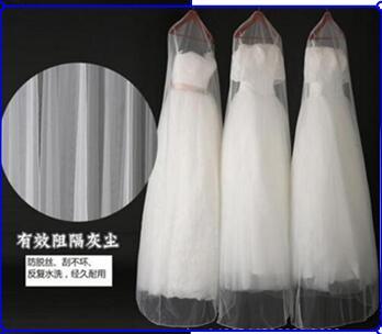 Wholesale 1.8m 180cm Wedding gauze transparent dust cover bags wedding dressEvening dress Garment Bags new