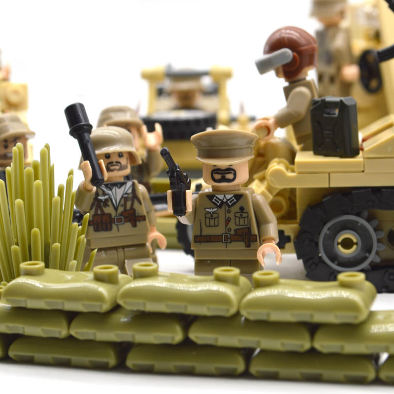 Image 3 - New ww2 blocks soldiers Military Army sets figures Building blocks toys for boys US Russia UK Trooper-in Blocks from Toys & Hobbies