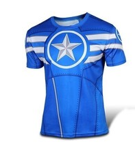 Moto 2015 basic fitness T-shirt, fitness tights compression base layer long-sleeved blouse shirt men