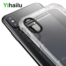 hot deal buy phone cases for iphone xs max iphone xs 7 8 case soft silicone tpu airbag shockproof transparent back cover for iphone xr 7 plus