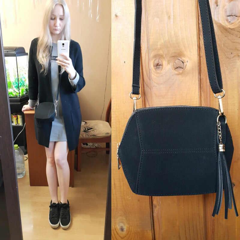 8c4f6ce3f803 ... Fringe Crossbody Bag Women Suede Clutch Bag Girl Fashion Messenger  Shoulder Handbags Ladies Beach Holiday Tassel ...