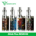 Original 75 W Eleaf iStick Kit RESINA Pico/Mod w/Melo 3 Mini atomizador 2 ml y Pico Resina Mod TC/VW Mod 510 Hilo E cigarrillo