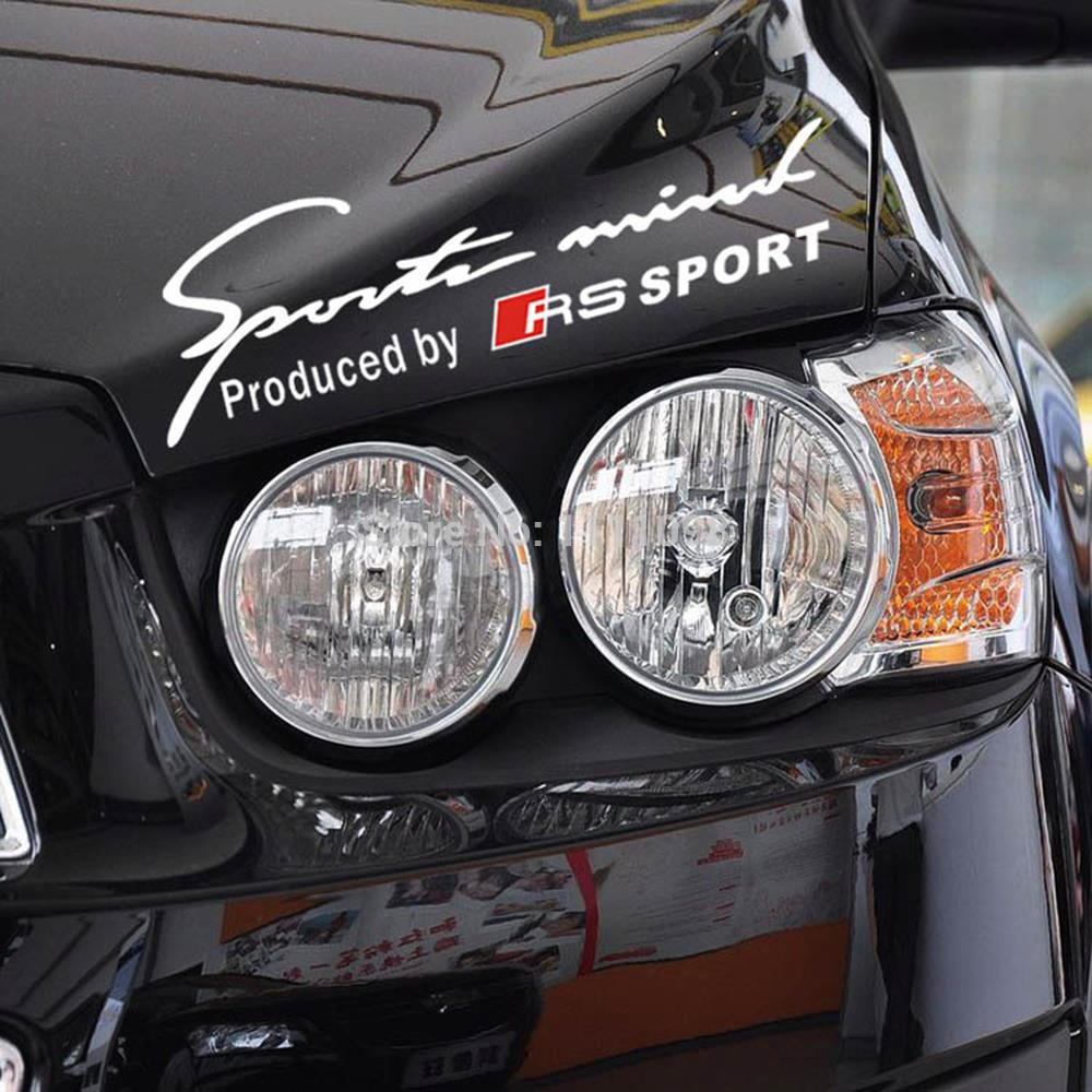 Sport car sticker design - Newest Design Car Sports Mind Produced By Rs Sports Stickers Car Decals For Audi Rs Sports