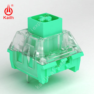Image 4 - Kailh Switch box diy คีย์บอร์ด RGB/SMD สไตล์จีน series เคลือบสีเขียว Noble สีเหลือง Ancie