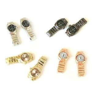 Image 1 - 1:12 Miniatur Uhr Für Puppenhaus Decor Zubehör Mini Möbel Spielzeug Multiple Farbe