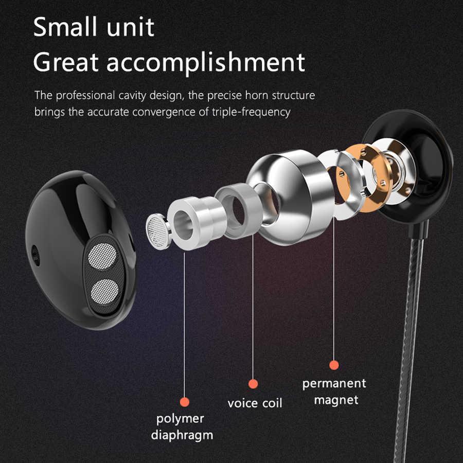 PTM D07 低音サウンドイヤホンヘッドフォンマイクハンズフリーでスポーツゲーミング Dj ヘッドセット携帯電話用 3.5 ミリメートル有線イヤフォン MP3
