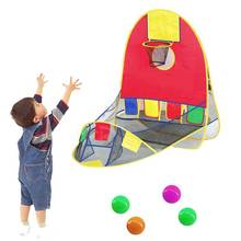 Ball Tent Play House Basketball Basket Tent Ocean Ball Pool Outdoor Indoors Sport Kids Toys Beach Lawn Play Tent Scoring @ZJF