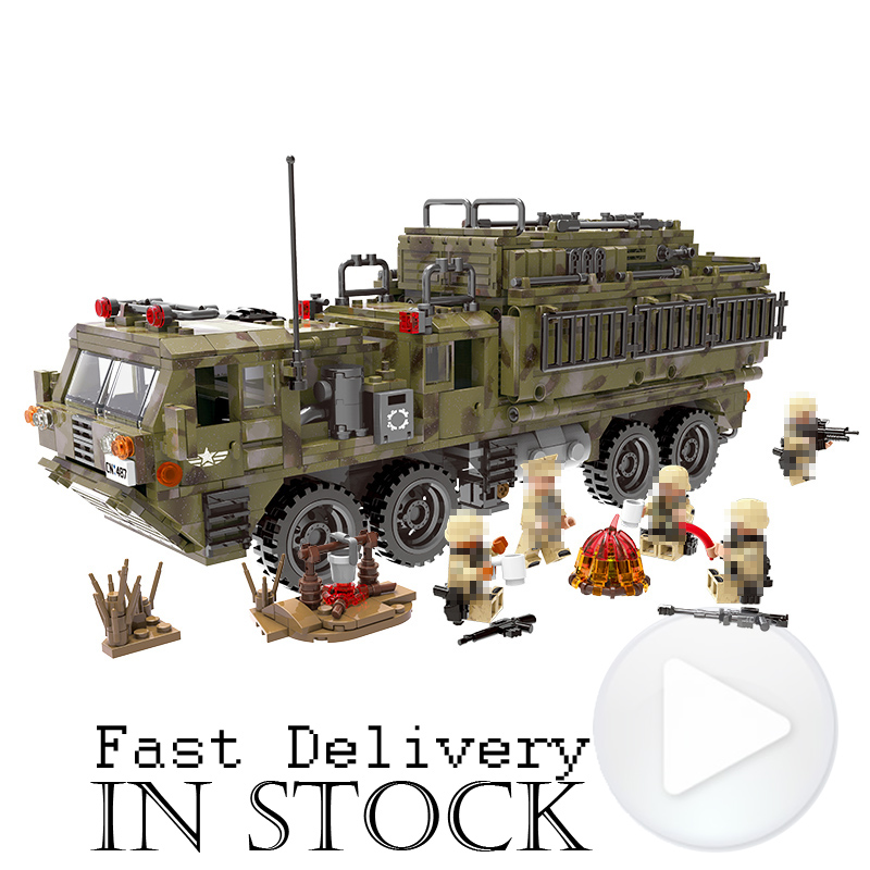 XingBao Military Weapons 06014 1377PCS The Scorpion Heavy Truck Building Blocks Bricks enlighten toys for children  brinquedos 8 in 1 military ship building blocks toys for boys