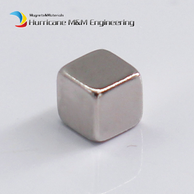 1 Pack NdFeB Block 3x3x3 (+/-0.1)mm Small Cube Magnet Bar Strong Neodymium Permanent Magnets Rare Earth Lifting Magnets N42 2pcs d22 200mm 10000 gauss strong neodymium magnet bar iron material removal