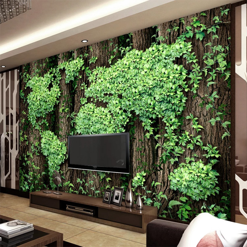 Custom Photo Mural Wallpaper 3D Creative World Map Rattan Background Home Decorative Painting Mural Living Room Sofa Wallpaper